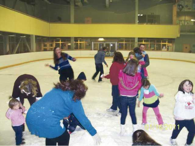 Family Snow Day at Ice Station Valencia.