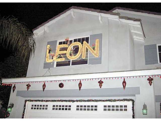 "The Titcombs' Grand Champion Runner Up House features a twist on ""Noel,"" with all things being ""Leon."""
