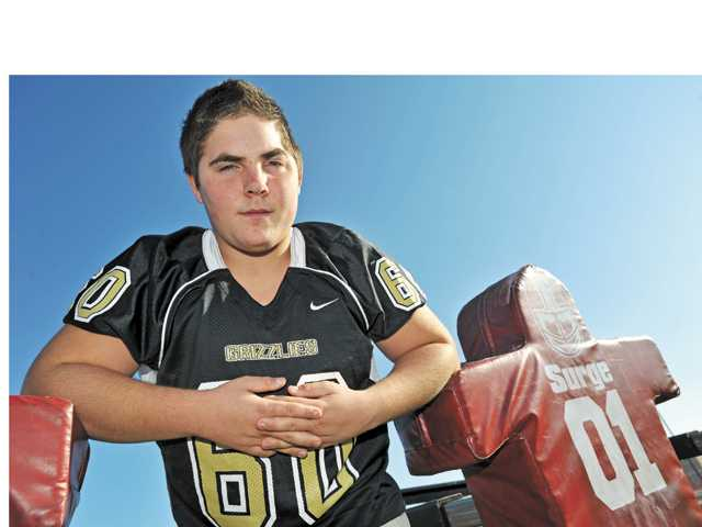 Golden Valley senior offensive lineman Taylor McKnight was announced as a High School Football Rudy Awards finalist Dec. 11.