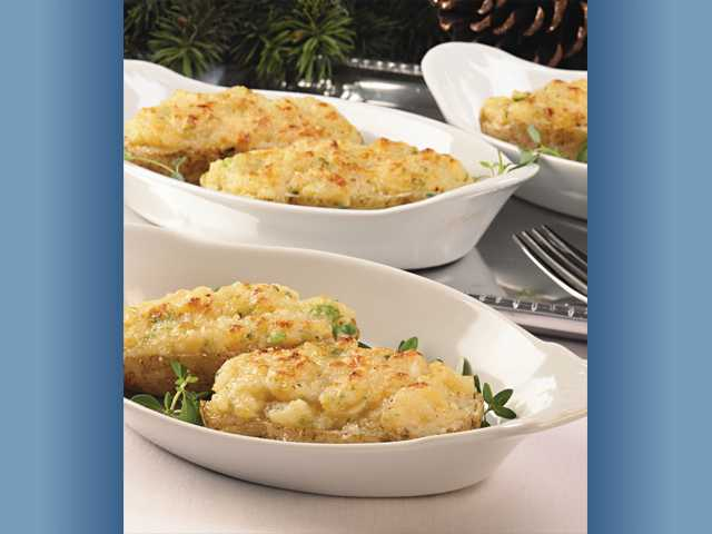 Delicious twice-baked potatoes