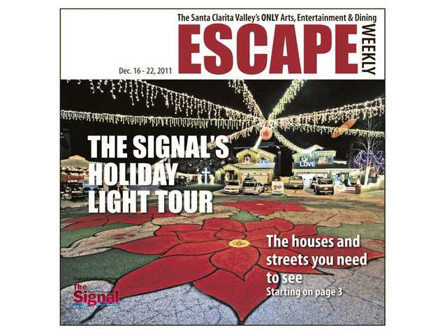 The Holiday Light Tour issue (Dec. 16 - 22) gets the nod as the number one issue of Escape for 2011.