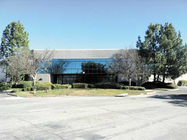 The All American Products Group Santa Clarita headquarters is seen. The company signed a new long-term lease on the building this month.