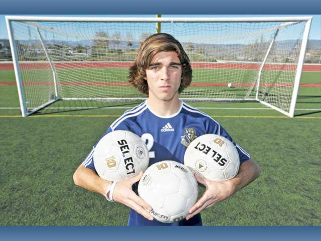 West Ranch senior captain Chris Tumasone begins his third year on the Wildcats varsity soccer team.