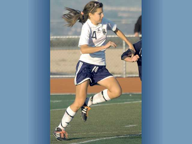 Senior Kendall Moskal is a team captain for West Ranch and is one of the team's top returners on defense.