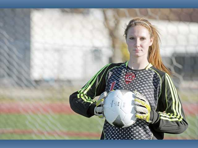 Hart senior goalkeeper Ashleigh Tippet has recorded nine shutouts this season and has allowed just five goals.