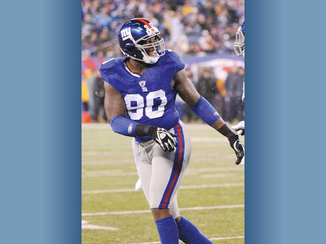 New York Giants defensive end and former College of the Canyons standout Jason Pierre-Paul was voted to the All-Pro and Pro Bowl teams this year, just his second season in the NFL.