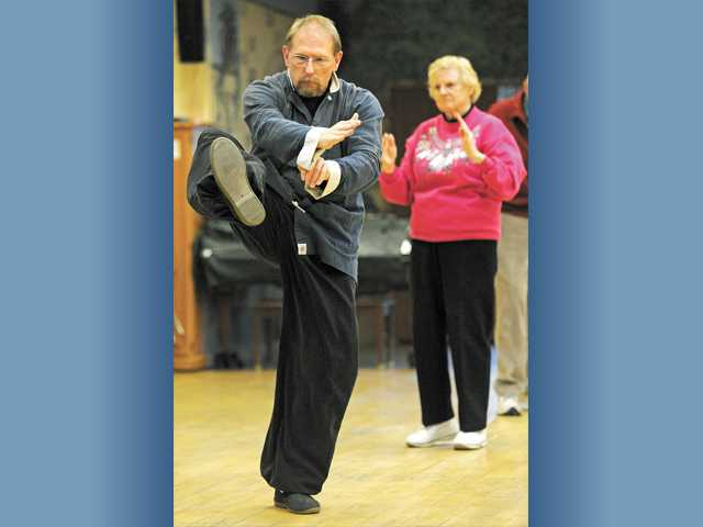 Tai chi adds peace to center