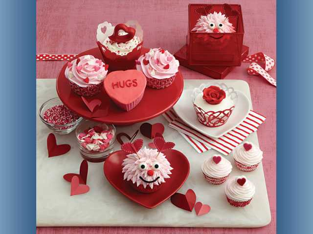 Show love with cupcakes