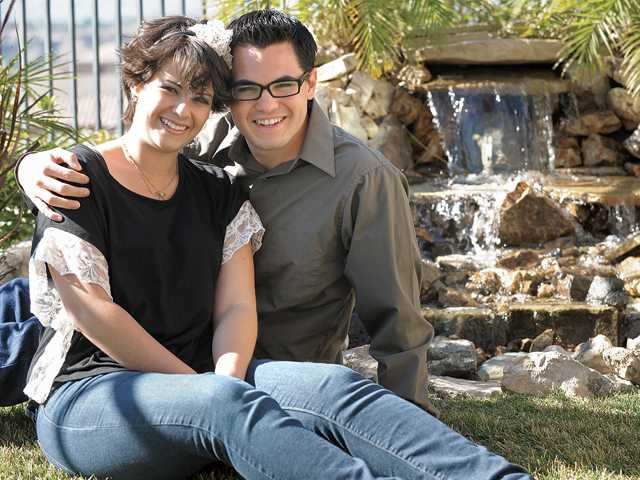 Corrine Pilarski and Matt Lussier became engaged in May after a mass was discovered in Pilarski's brain.
