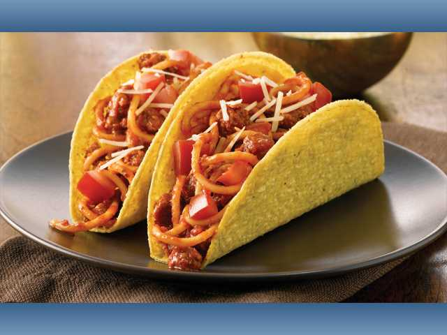 Family taco night with a twist