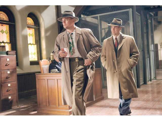"Leonardo DiCaprio, left, and Mark Ruffalo in a scene from ""Shutter Island."""