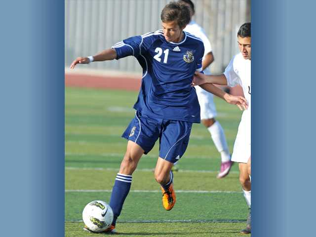 West Ranch forward Brandon Dooley was selected as Foothill League Player of the Year by the league's coaches.