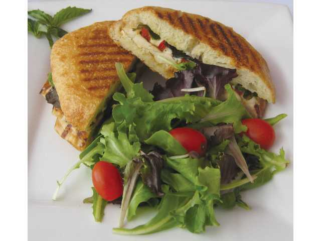 Grilled Chicken Panini.