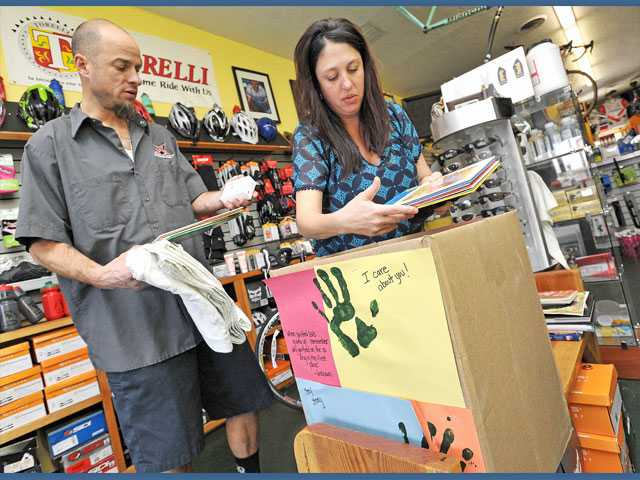 Bike shop owners launch new charitable endeavor