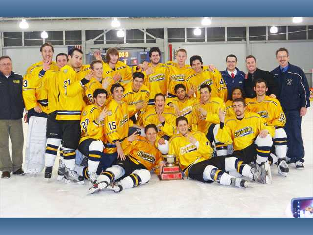 College hockey: Role reversal for Canyons ice hockey