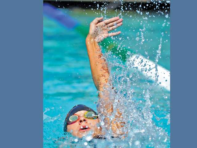 Hart's Nicole Antoniuk is one of the top returning swimmers in the Foothill League.