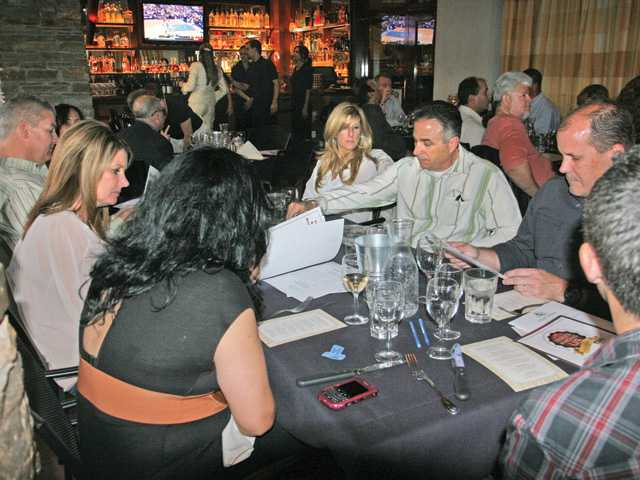 Guests at Salt Creek Grille in Valencia enjoyed an evening of food and wine tasting to benefit the Boys & Girls Club of SCV.