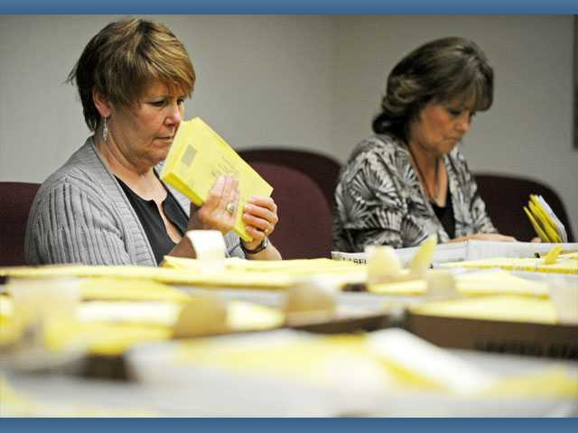 City begins sorting vote-by-mail ballots
