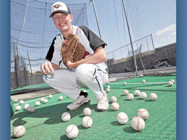 SCCS senior Ryan Fullarton has improved his command and learned new pitches.