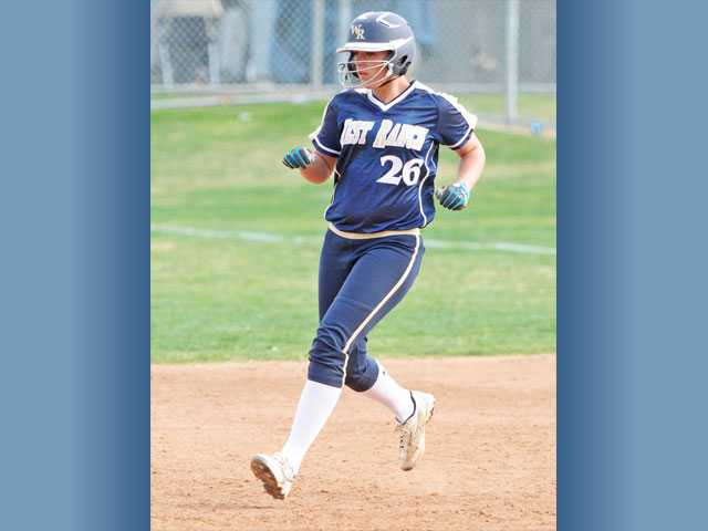 Senior Janelle Lindvall (pictured) and West Ranch are hoping to win the first Foothill League title in program history.
