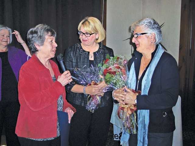 Soroptimists celebrate women