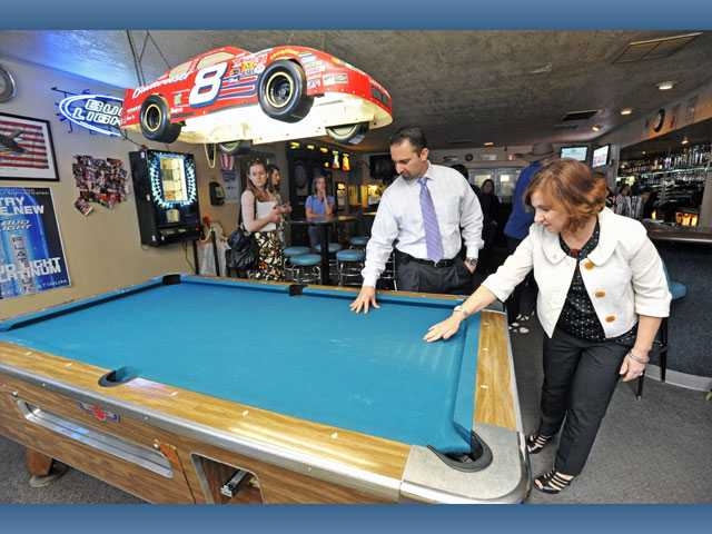 A new full-size pool table may also be  installed as part of the renovation.
