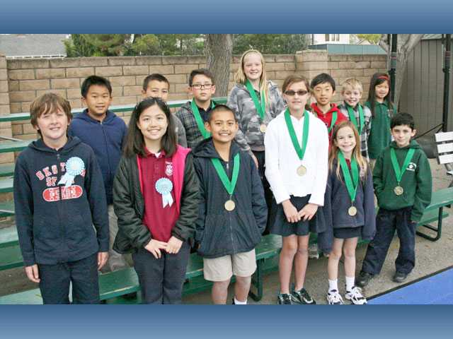 About 40 Pinecrest School Valencia students took part in the school's annual science fair on March 23. A total of 41 students in grades 3, 4 and 5 participated in the fair and about a dozen students took home medals. The winning projects focused on plants, engineering, physics, temperature, solar energy, dental hygiene and the five senses.