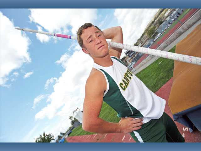 Canyon senior Robert Wolfe was almost cut as a freshman. Now, he's arguably the best pole vaulter in the Foothill League and plans on a deep CIF run.