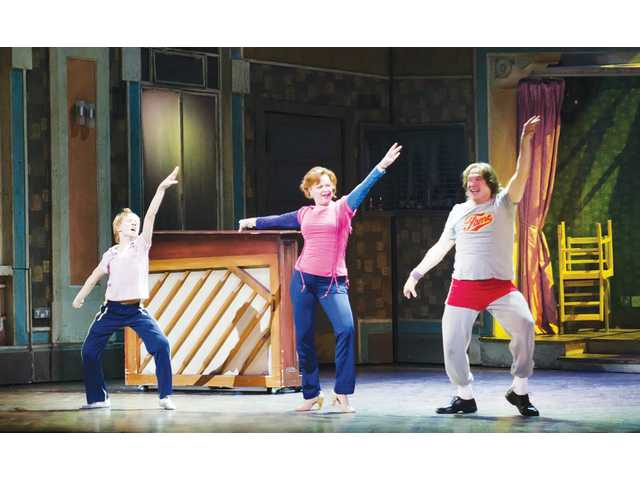 "Ty Forhan (Billy), Leah Hocking (Mrs. Wilkinson) in ""Billy Elliot the Musical"" at the Pantages through May 13."