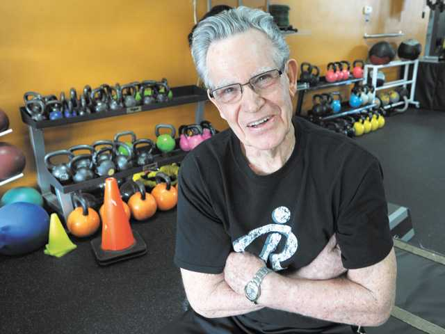 Tom Pope, 80, started a fitness regime two years ago, he has since lost 60 pounds. He works out six days a week.