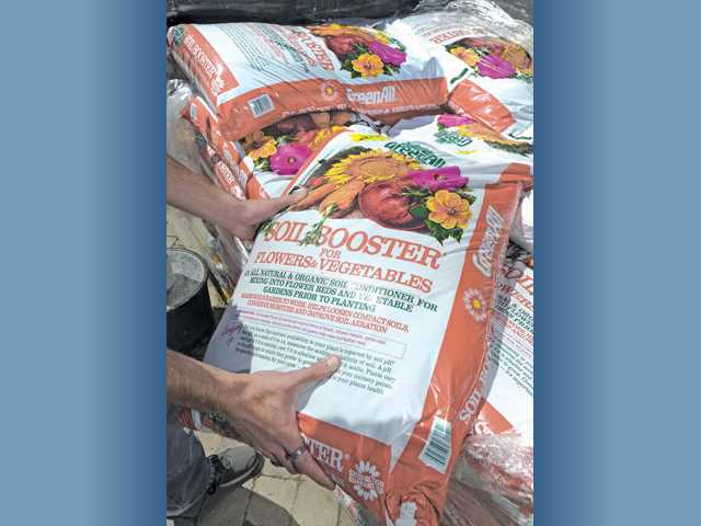Organic GreenAll Soil Booster ($7.99 for 1.5 cubic feet).