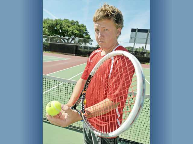 Hart junior Tommy LaBat was slated to be the No. 1 singles player this season, but he unexpectedly began having back spasms. Since moving to doubles, he and teammate Rohan Shankar have been a formidable duo.