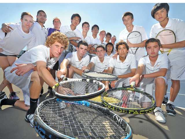 Valencia High tennis: Miles ahead of the rest