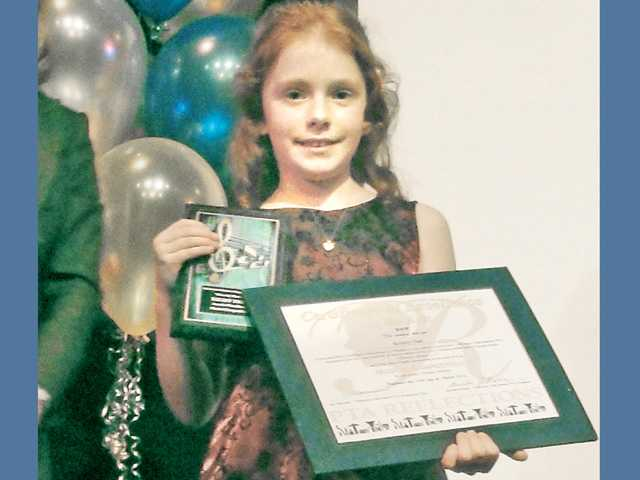 Second-grader wins multiple art awards