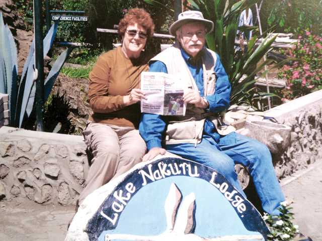 Lynn and Bill Parkinson took The Signal on safari in Kenya.