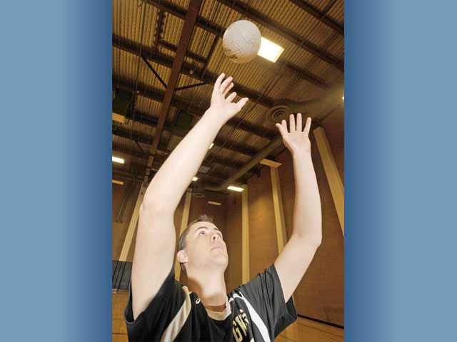 Golden Valley senior setter Zach Pearce didn't play volleyball until his sophomore year. Since then, he's become an important piece of this season's team after graduation losses taxed the program.