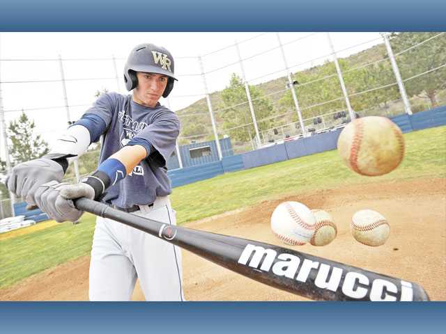 Despite being a 15-year-old freshman, West Ranch's Jagger Rusconi is a contact hitter from both sides of the plate. The Foothill League has taken notice.