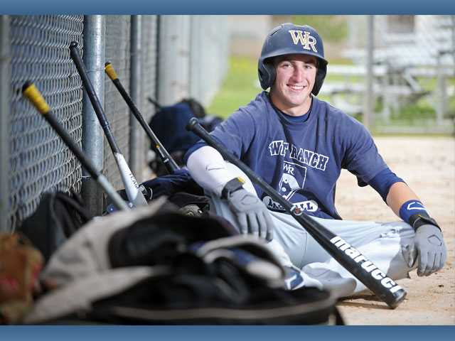 West Ranch freshman Jagger Rusconi has not been intimidated by varsity competition, batting .408 with 27 RBIs.