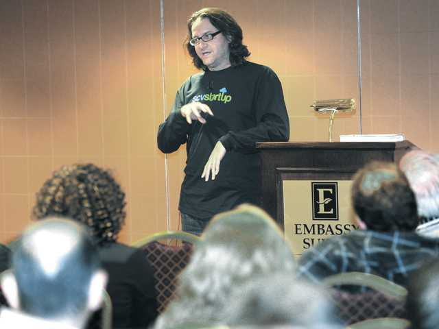 Guest speaker venture capitalist Brad Feld addressed a group of local high-tech startup entrepreneurs at the SCV Startup meeting April 11. Business owners have pursued different finance options for their companies.