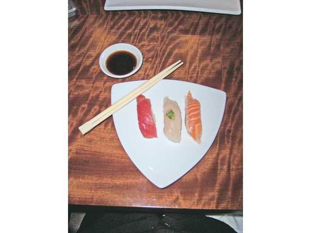 Sake's Master Sushi Chef Richard Tjandra brings fresh fish in five days a week.