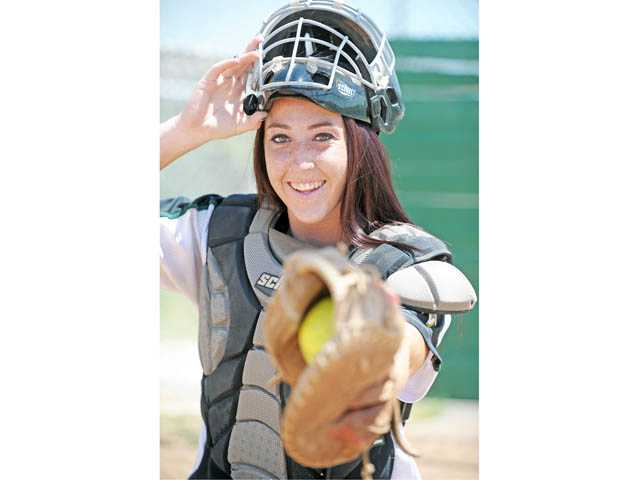 Canyon senior catcher Courtney Ziese competed in a Foothill League full of bigger programs in terms of notoriety, but her contributions could have helped set Canyon on the path to reaching that echelon.