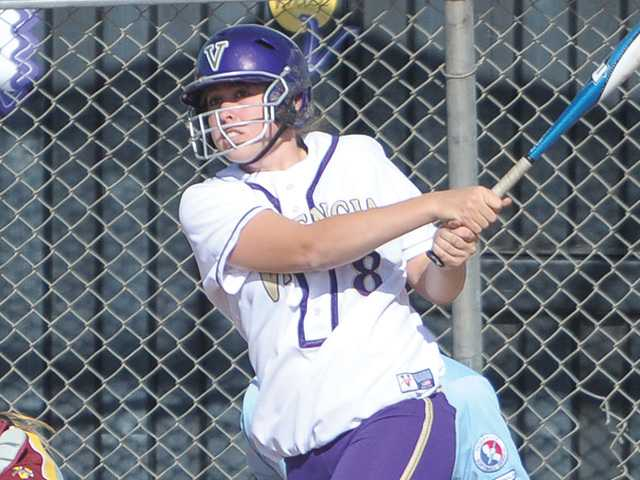 Valencia junior first baseman Kristina Brackpool has dedicated herself to improving her abilities the past two years.
