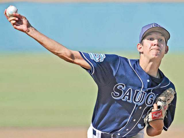 Saugus No. 2 pitcher Chad Bennett will take on defending Division I champion J.W. North.
