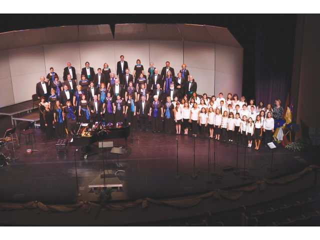 The Santa Clarita Master Chorale and the Santa Clarita Children's Honor Choir perform at the PAC on June 3.