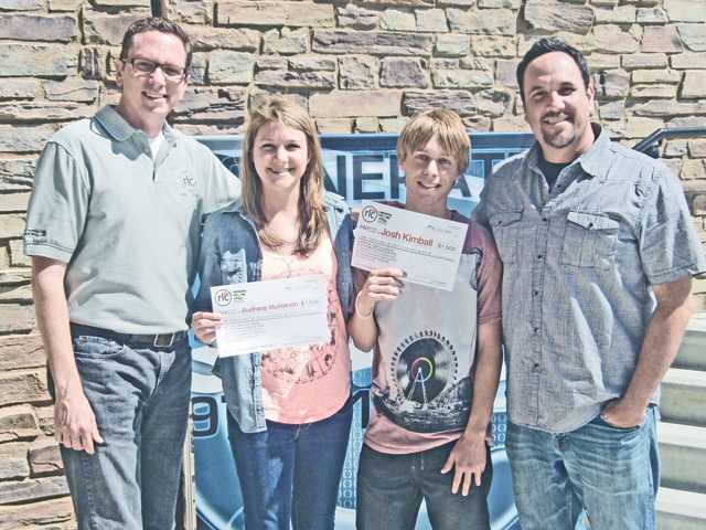 Students win scholarships
