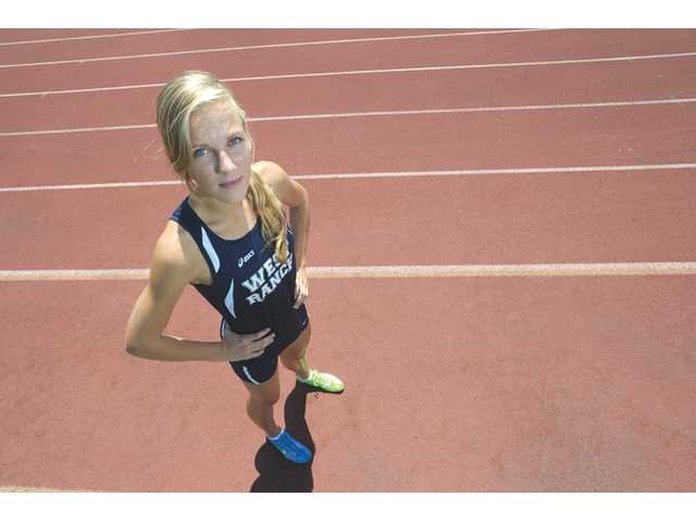 West Ranch runner Ashley Welker just missed the CIF State finals last season. Today, she'll try to change those fortunes when she races in the preliminary round of the 800 meters at the CIF State track and field meet in Clovis. In June, Welker will head to the United States Naval Academy.