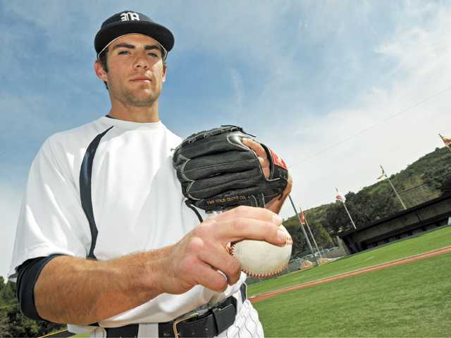The Master's College pitcher Charlie Gillies has a terrific sinker and is consistently in the strike zone, which could lead to him being taken in the first half of the draft.