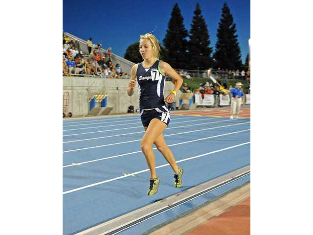 Saugus senior Karis Frankian (pictured) reached the state meet seven times between track and cross country.