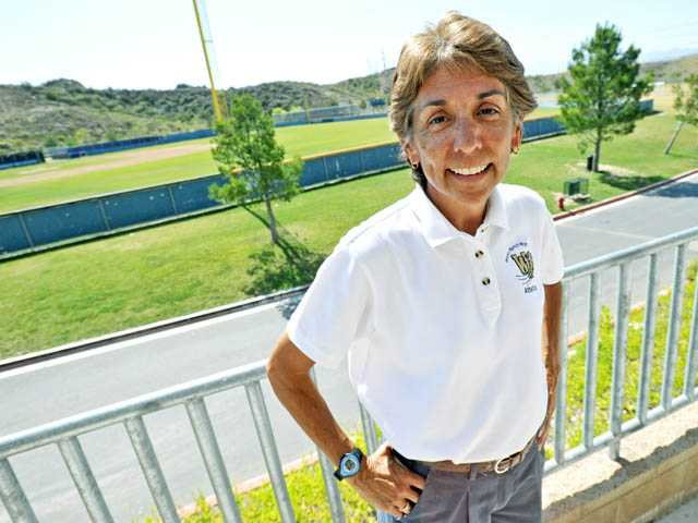 West Ranch High Athletic Director Dody Garcia became involved with sports in the Santa Clarita Valley as an athlete at Canyon High in 1972.