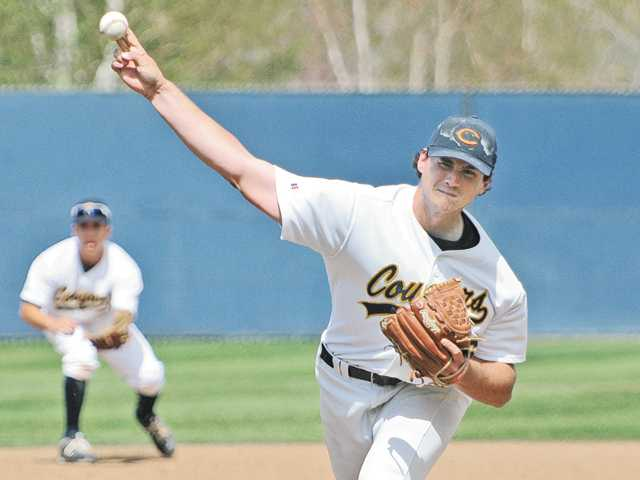 College of the Canyons pitcher Cory Jones was the highest local selected in the Major League Baseball First-Year Player Draft on Tuesday.